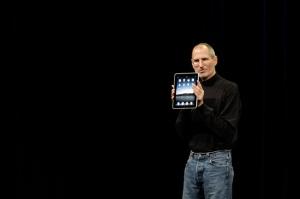 here it the slippery  iPad